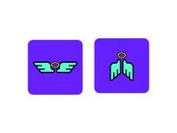 Angel icons (pre-mock)