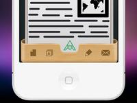 iPhone UI icons ui ui design design iphone ios mobile photoshop