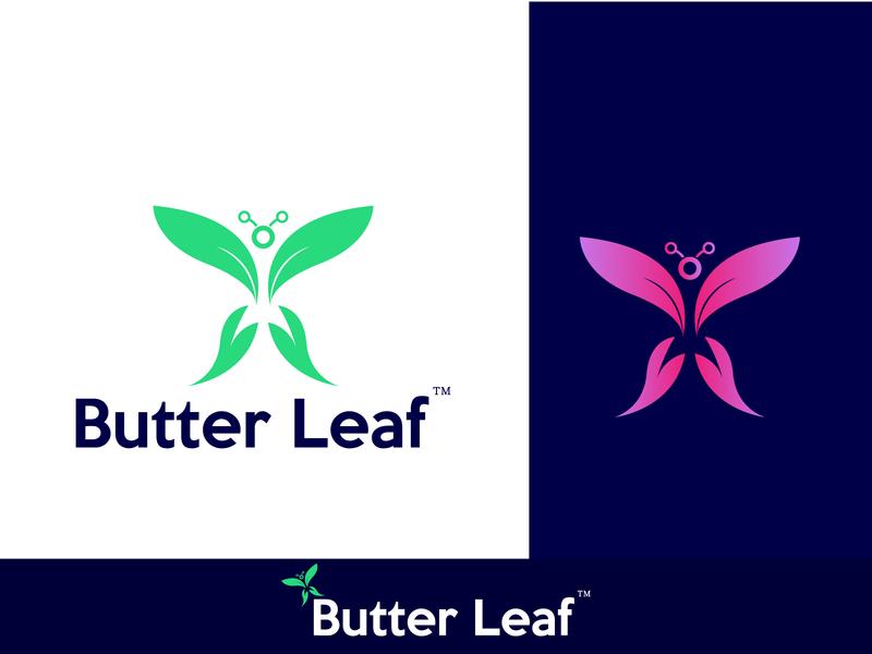 Butterfly Logo nature logo leaf logo leaf logo concept branding agency logo tipo logo designer logo mark butterfly logo concept butterfly icon logotype branding and identity app vector others company logo illustration branding logodesign