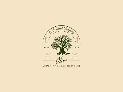 Logo design logos logotipos mexico logo design concept olive logo olives olive green olive tree icon design logotype retro vintage logo mark vector logo others illustration branding logo designer logodesign