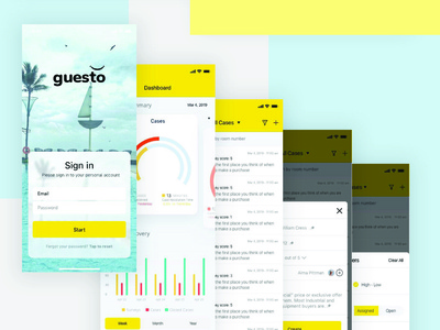 Guesto Mobile Application