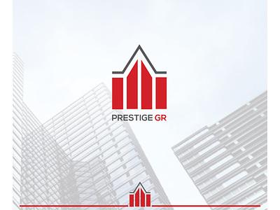 Real estate logo vector modern branding icon logo design illustration beautifu logo design beautiful logo minimalist logo flat  design