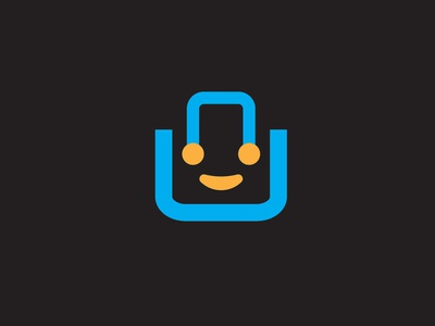 eCommerce website logo black orange simple typography latter blue modern branding vector logo design icon illustration beautifu logo design design beautiful logo logo minimalist logo flat  design