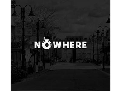Nowhere logo for Photographer vector logo design logo icon illustration design beautiful logo minimalist logo beautifu logo design flat  design
