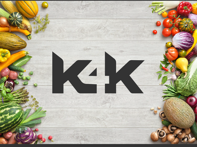 K4K logo logo typography vector modern branding logo design beautifu logo design beautiful logo minimalist logo flat  design