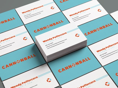Cannonball Business Cards