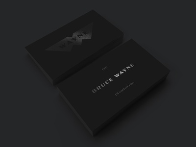 Wayne Enterprises Business Cards