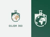 Oujda 360 Logo.