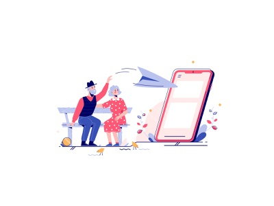 Phund - Lend blockchain send paper airplane grandpa grandma grandparents family devices app decentralized smart finance finance money coin loan borrow lend