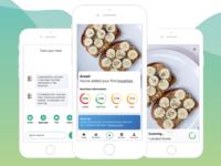 Nutrition app concept