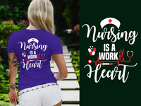 Nursing T-Shirt & Wallet Design