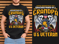 U.S VETERAN T-shirt Design