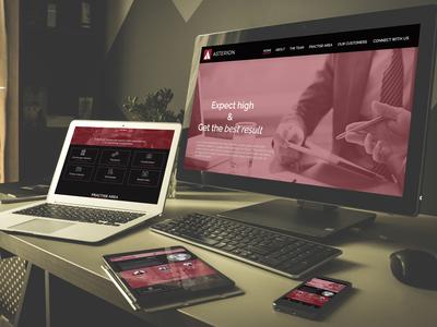 Website Mockup/ UI UX Design