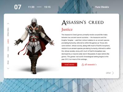 Assassin's Creed | Design concept