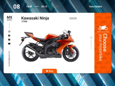 Motorcycle Shop | Design concept