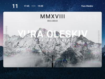 Web design | Yura Oleskiv