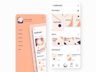 Reading App design illustration vector dailyui app appdesign ux ui