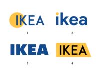 IKEA logo concepts