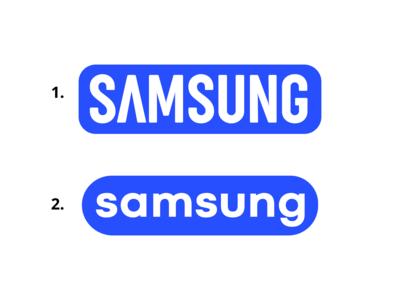 Samsung Logo Concept