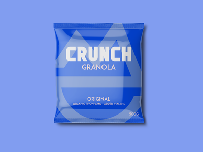 CRUNCH - Granola Packaging