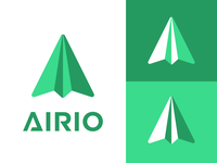 Paper airplane logo - Daily Logo Challenge (Day 26)
