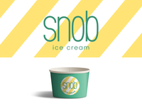 Ice Cream Company - Logotype - Daily Logo Challenge (Day 27)