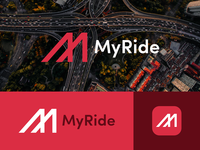 MyRide - Logo and Branding - Daily Logo Challenge (Day 29)