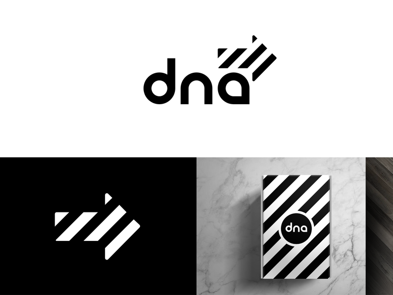 DNA Shoes - Daily Logo Challenge (Day 30) negative space stripe shoebox geometric logo a day identity company sports running sneaker sneak height dna black and white bw branding icon logo shoes