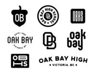 High School Concept Branding/Clothing Designs