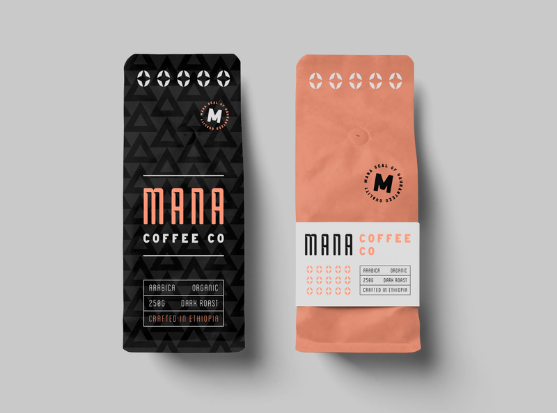 Coffee Bag Design rebound coffee shop typography branding logo package design coffee