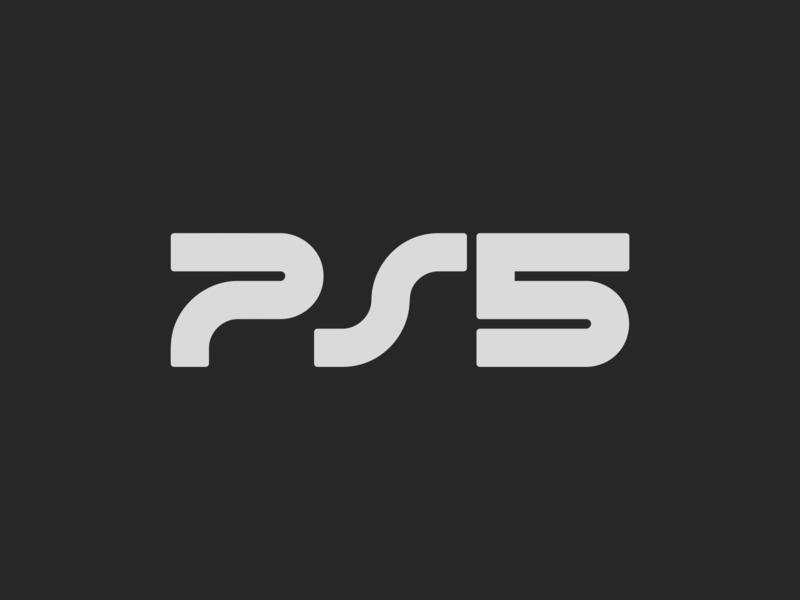 PS5 Concept Logo rebound videogame five xbox gaming wordmark brand new rebrand branding logotype concept logo playstation ps5