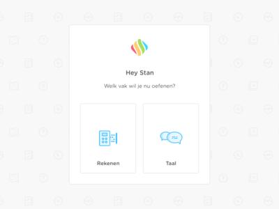 Studyflow Login icon pattern choose course login school app webapp high school teaching happy icons studyflow