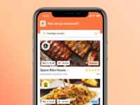 Thuisbezorgd app redesign