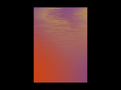 No signal kinetic typography gradient color hue visual arts visualarts motion design motiongraphics motion visual kinetictypography kinetic