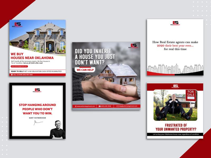 Social Media Design freelancing graphicdesigning socialmediadesign real estate property
