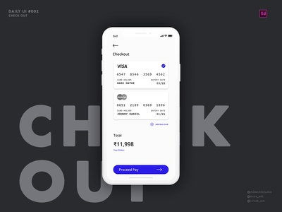 Daily UI :: #002 | Credit Card Checkout