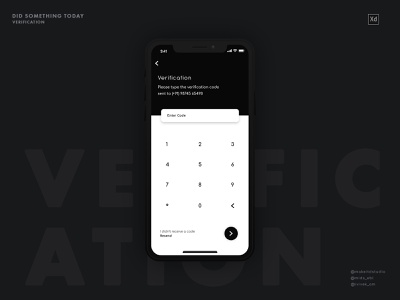 Verification onboarding branding typography illustration product app iphone interface interaction minimal clean animation ui  ux ui design