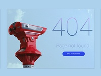 404 page__My design for Daily UI #008