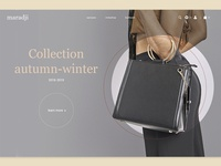 Fashion bags site concept