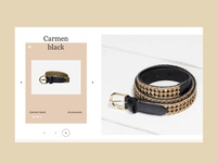 Carmen black accessories