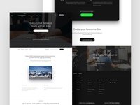 Landing Page From Craftwork