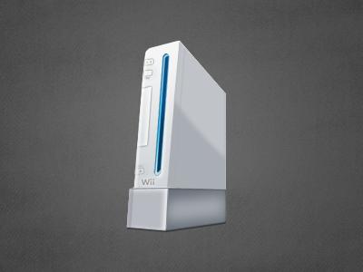 Nintendo Wii Icon Illustration wii nintendo console game console
