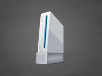 Nintendo Wii Icon Illustration