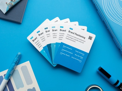 Alphabag Deck - Brand Experience Design Series brand mission brand vision brand voice brand positioning ux project management branding