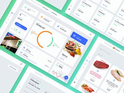 Horeca Management SaaS Platform platform horeca restaurant analytics ux strategy saas ui  ux ux ui dashboard ui interface ux designer