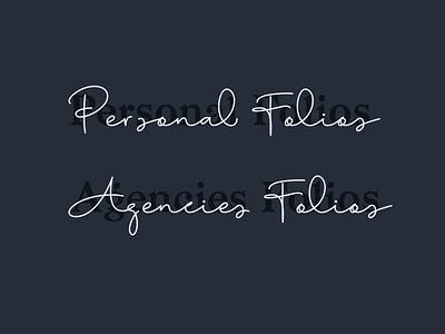 Messing with Type web dark mode dark brand logo folio agency portfolio font fonts typography type