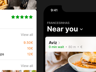 Francesinha App (Close-up) iphone dark apple ios mobile restaurants food francesinhas app