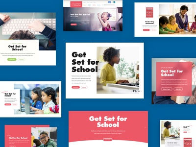 Learning Without Tears Headers design systems call to action cta callout ui design web design page opening hero header