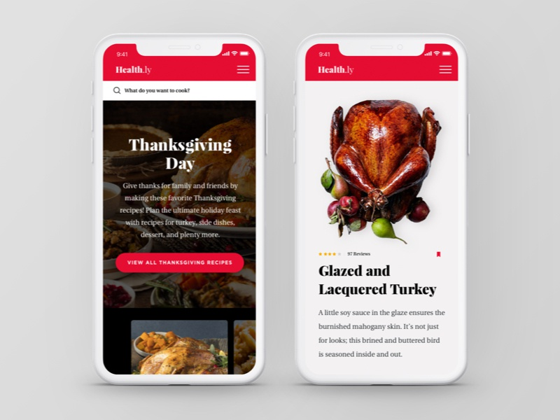 healthly thanksgiving collection mobile by randall parrish