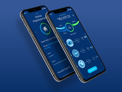 Financial Wellness - Ribbon Concept watch apple watch mobile iphone data account application money design ux financial ios interface bank finance ui design mobile app credit savings checking
